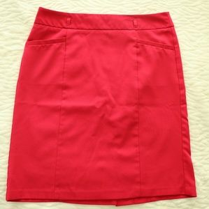 NY&Co | Knee Length Skirt - Hot Pink